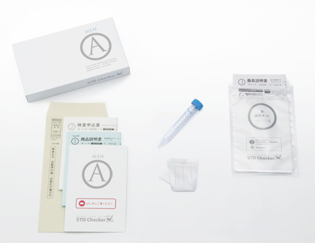 STDチェッカー タイプA(男性用)